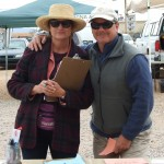 Farmers Market - Diane & Randy (a legally blind fisherman!)